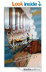 Granite countertop owners manual