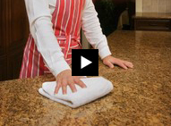 How to remove soap film from granite countertops