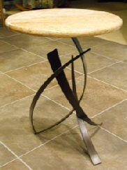 Handmade granite tables