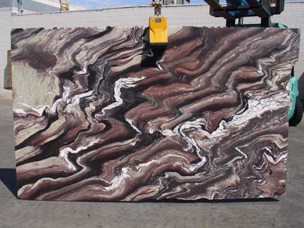Exotic Granite Slab