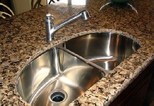 granite undermount sink